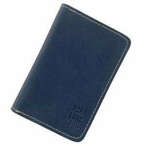 Portland Leather Goods Modern Passport Holder